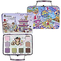 Tokidoki Airways Pallette aka I wish I hated makeup via sephora.com