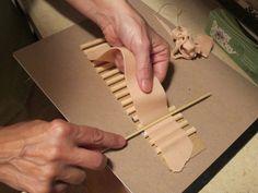Il Mondo delle tegole: Come costruire piccole tegole per presepi e diorami