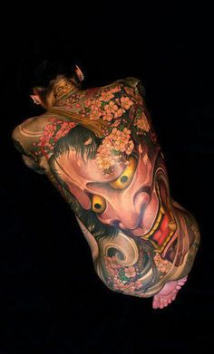 Japan full body tattoe Irezumi