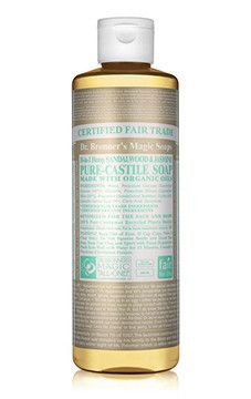 Organic, Vegan, Cruelty free and multiple uses! Dr Bronner's Limited Edition Sandalwood & Jasmine Castile Soap - gorgeous!