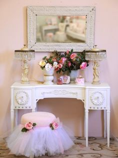 Feminine Dressing Table