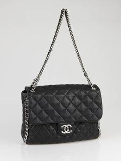 Chanel Chain Around Maxi Flap Bag.