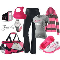 Sport Clothes Nike Gym Outfits Workout Gear 38 Ideas For 2019 Nike Outfits, Fitness Outfits, Sporty Outfits, Athletic Outfits, Athletic Wear, Fitness Fashion, Fitness Wear, Pink Fitness, Batman Outfits
