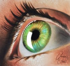 Eye (Oil Paint, Dry Brush and Pencil) by f-a-d-i-l on DeviantArt