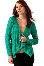 Lace on the Side Cardi
