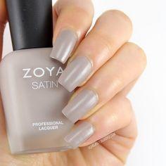 Liquid Jelly: [Review+Swatch] Zoya Naturel Satins Collection for 2015 - Zoya Rowan