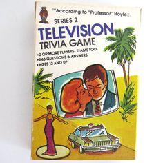 TV Trivia Card Game Series 2 According to Professor Hoyle Pocket Trivia NOS  #Hoyle