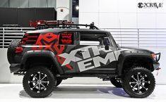 Custom Fj Cruiser, Land Cruiser, Toyota Cruiser, Nissan 4x4, Jimny Suzuki, Motorbike Design, Truck Camping, Toyota Trucks, Four Wheel Drive