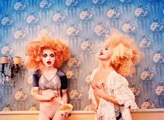 David LaChapelle, Milk Maidens, Paris, 1996. Courtesy of the artist/ Staley-Wise Gallery, New York.