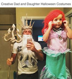 wwinterweb Creative dad and daughter Halloween costumes (see 9... -   sc 1 st  Pinterest & 100+ Halloween Costume Ideas Inspired by the u002790s