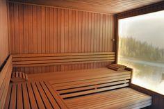 Entspannen Sie sich in unserer Bio-Sauna. Bio Sauna, Wellness Fitness, Floor Chair, Flooring, Furniture, Home Decor, Decoration Home, Room Decor, Wood Flooring