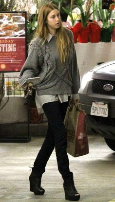 "Looking to replenish her pantry, Whitney Port was spotted at her local Whole Foods store in Los Angeles yesterday (December 16).  The former ""Hills"" hottie was joined by a friend as she stocked up on some groceries, looking cute and casual for the paparazzi."