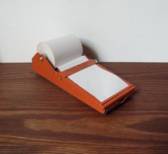 Vintage Metal Note Holder...Before Post Its