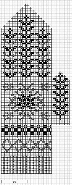 Mustrilaegas: A Kudumine / Knitting Baby Hats Knitting, Fair Isle Knitting, Knitting Charts, Knitting Socks, Knitting Stitches, Knitting Patterns Free, Knitted Mittens Pattern, Crochet Mittens, Knitted Gloves