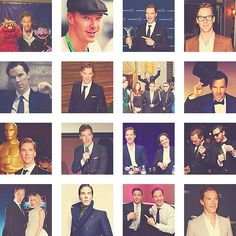 Ben Cumberbatch Collage