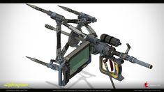 ArtStation - Cyberpunk 2077 - Early Prototype - MultiTool, Csaba Szilagyi Future Weapons, Cyberpunk 2077, Great Britain