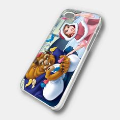 BEAUTY AND THE BEAST WITH BIRDS - iPhone 5case, iPhone 4 case, iPhone 4s case,hard case MSH