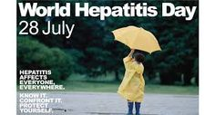 #WorldHepatitisDay #July28 - In Canada, an estimated 600,000 people have viral hepatitis, with many unaware of their status.