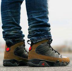 "quality design 63878 6da04 ... Olive"" Air Jordan 9 ..."
