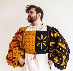 Warhammer Fantasy - Open Wams I by Ring-A-Ding on DeviantArt Mens Garb, German Costume, German Outfit, Landsknecht, German Fashion, Vash, Medieval Costume, Renaissance Clothing, Doublet