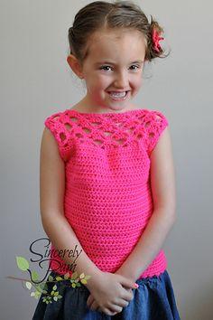 Ravelry: Samantha Shell - Child Sizes pattern by Sincerely Pam