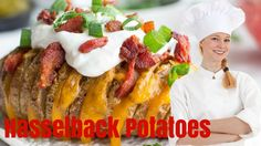 How To Make Hasselback Potatoes - Food City