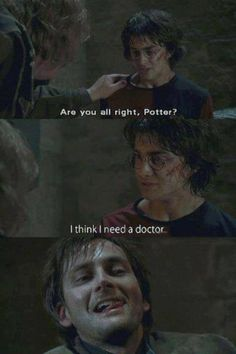 Yes, pretty much all I pin lately is Harry Potter or Doctor Who. Not sorry. and I dont even know where to put this....