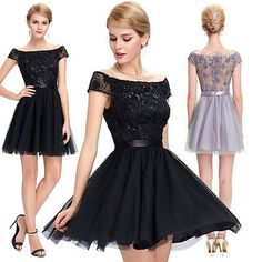 Off-Shoulder-Short-Cocktail-Dress-Party-Homecoming-Formal-Bridesmaid-Prom-Dress