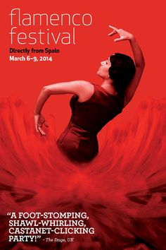 Flamenco Festival 2014! March 6-9 at New York City Center || Wish I could attend! This looks spectacular.