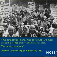 Martin Luther King, March on Washington #MOW50