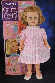 there was a girl down  the street when I was little that my Mom called chatty cathy!