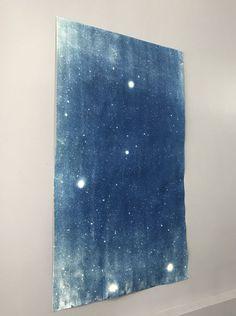 Large Star Field Cyanotype Signed (Etsy)