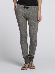 Chino jogger van sweatstof | Jersey / Sweatpants | Dameskleding bij Scotch & Soda