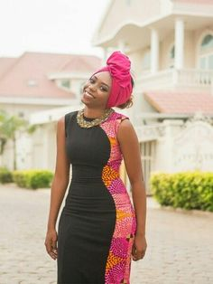 What a special way to celebrate Christmas with astonishing Ankara styles. We love Ankara, and we are always looking forward to featuring different unique styles with you every time. African Print Dresses, African Dresses For Women, African Wear, African Attire, African Fashion Dresses, African Women, African Prints, African Girl, African Print Fashion