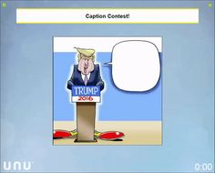 Political humor at its best as a human swarm suggest captions for a Donald Trump speech. Join our beta program at www.unanimous.ai/unu