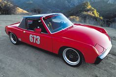 don't see a Porsche 914 very often do you? Porsche Models, Porsche 914, Classic Sports Cars, Classic Cars, Hot Cars, Custom Cars, Cars Motorcycles, Vintage Cars, Super Cars