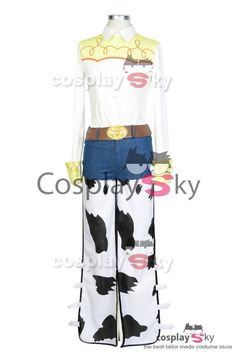 Disney Toy Story The Yodeling Cowgirl Jessie Outfit Cosplay Costume_4