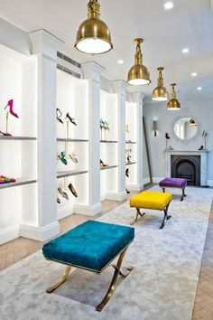 MANOLO BLAHNIK is almost as famous for his fabulous anecdotes as for his fabulous shoes - and grinning as he holds court in his new store in Mayfair's Burlington Arcade, his stories are as colourful as his heels.