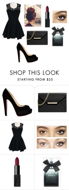"""""""Untitled #119"""" by dina-6969 on Polyvore featuring Christian Louboutin, MICHAEL Michael Kors, Charlotte Tilbury, NARS Cosmetics and Torrid"""