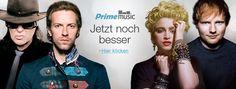 Amazon Prime Music ab sofort mit Künstlern des Musiklabels Warner Music Group - http://www.onlinemarktplatz.de/64659/amazon-prime-music-ab-sofort-mit-kuenstlern-des-musiklabels-warner-music-group/