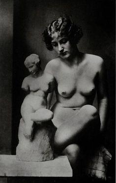 Anonyme - Le Modèle, ca. 1925