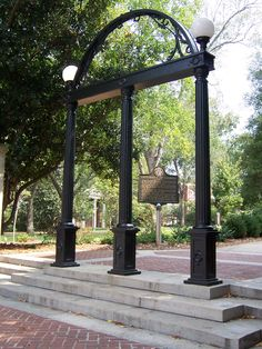 Athens, GA at The University of Georiga.  GO DAWGS!