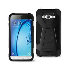 Cases, Covers & Skins Consumer Electronics Reiko Samsung Galaxy S3 Dropproof Workout Hybrid Case With Hook In Black Professional Design