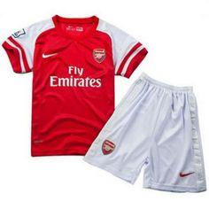 Nueva equipacion del Arsenal 2013-2014 para ninos