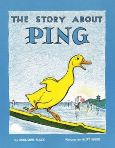 Vintage Kids' Books My Kid Loves: the story of ping- I LOVED this book when i was a kid