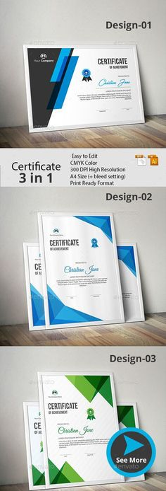 #Certificate Bundle - Certificates #Stationery
