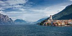 Malcesine, Lago di Garda, Italy (Photo Simone Wunderlich via Turismo in Veneto)