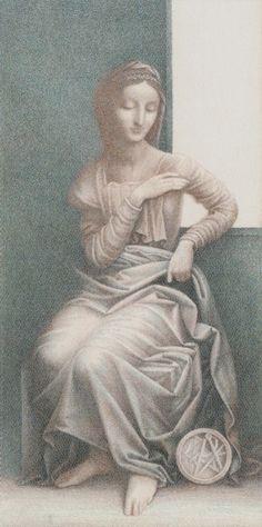 Queen of  Coins - Leonardo Da Vinci Tatot by A. Atanassov, Iassen Ghiuselev