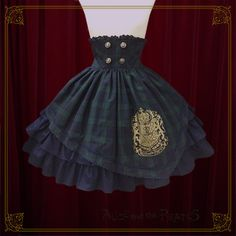 Alice and the Pirates Lucian Martin emblem skirt