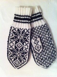 Norwegian mittens - classic pattern